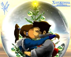 Makorra Christmas by SolKorra