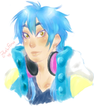 DMMD: Aoba Bust by Doctor-Ita