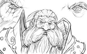 Dwarf Sketch by Kanaru92