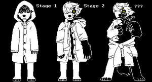 Undertale Indi STAGES by inkzooka