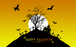 Halloween Wall 3 - 1280 by bystrawbrry