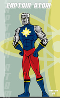 Captain Atom redesign by herrenmedia