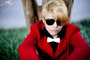 AWA 2011 - Homestuck   Dave by elysiagriffin