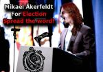 Mikael akerfeldt for president by Divinix