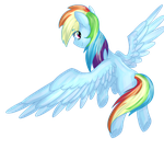 Rainbows in the sky by PsychoTwi