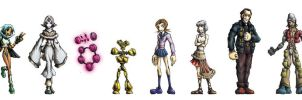 Thirdborn Character Lineup 1 by dalubnie