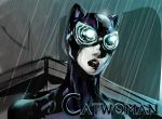 catwoman colored by Lepas