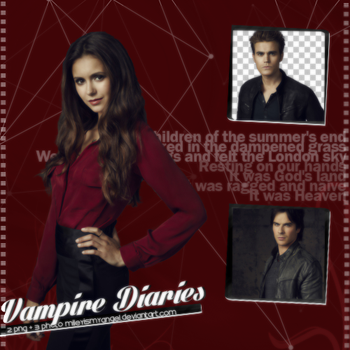 Vampire Diaries Png + Photo Pack by MileyIsMyAngel