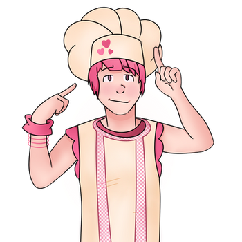 Stephanie - Lazy Town (Genderbent) by majorasmask1221