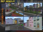 Hey Arnold City Mosaic by hookuy
