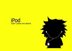 South Park's Tweek iPod by lad22