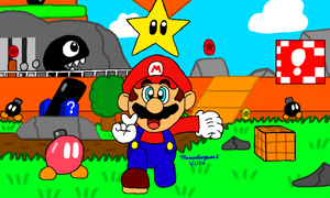 Super Mario 64 by MarioSimpson1