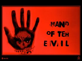 Hand Of TeH Evil by kXn