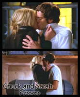 Chuck and Sarah forever by LoveRush