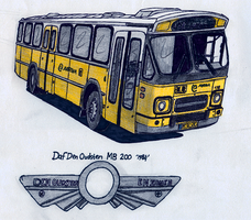 Daf Den Oudsten MB200 by BlackLeatheredOokami