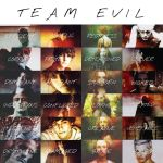 Traits of Characters: Team Evil by thoughtsoflove