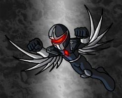 Mini Marvels - Darkhawk by ZappaZee