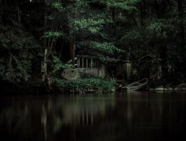 The Shack House River by IdelleX