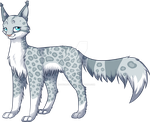Silverpaw/twig by MysticMistSong