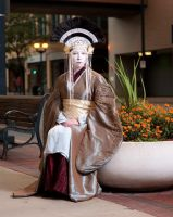 Amidala Sitting II by SighOfBlue