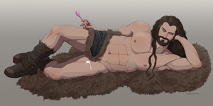 [[NSFW]] Thorin's Yogurt Night by doubleleaf