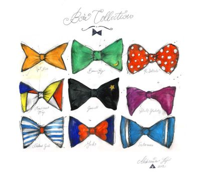 Men's Bow Collection by Poof2507