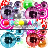 DiSCO BAllS PNG by MyDesireForAT