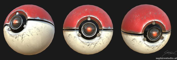 Pokeball Presentation by SaphireSouldier