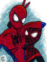 Spider-Bros by brodiehbrockie