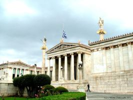 Academy of Athens by Elias-Chatzoudis
