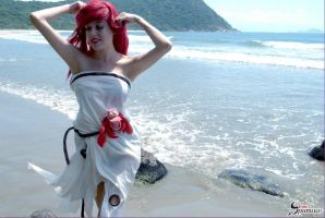 Ariel - Sail Dress - The Little Mermaid Cosplay by BabiSparrow