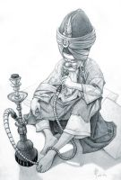 Hookah Guy by iancjw