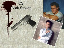 CSI Nick Stokes by lovergirl786