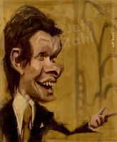 Eduard Khil, aka Mr. Trololo, by Jeff Stahl by JeffStahl