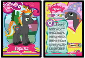 Firewall Trading Card by RinMitzuki