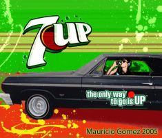 7Up ad by Insanemoe