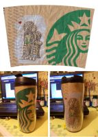 Starbuck Travel Mug by yamirenamon