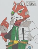 Fox McCloud by Wolfgerlion