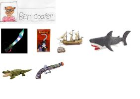Ben Cooper's wish list by trexking45