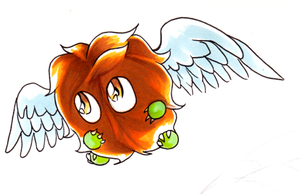 Winged Kuriboh by DeadlyObsession
