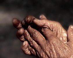 Language in hands by parthapal