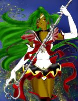 Millennium Senshi Sailor Pluto by Evilness321
