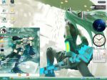 hatsune miku theme windows xp by unmake