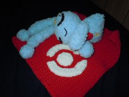 Manaphy with May's Bandanna by ScarletPianoWires