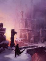The Fortress of grey ice by MarcSimonetti