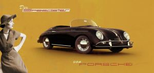 porsche 356 speedster by graf-ics