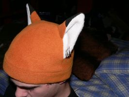 My fox hat by CrazypersonA4
