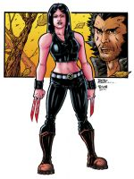 X-23_Color. by Troianocomics