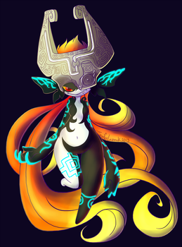 Midna's cool by xrsjaru