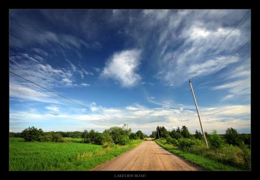 Lakeview Road by tfavretto
